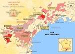 Mapa Languedo-Roussillon